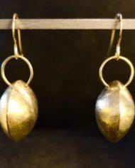 Boucles-d'oreilles-argent-925-plaqué-or-vermeil-coro-créations-japonaises