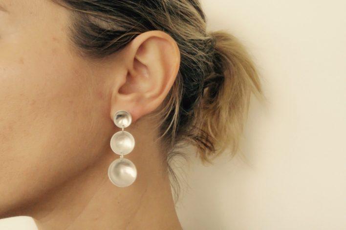 Boucles-d'oreilles-argent-925-concaves-clou